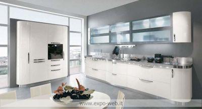 STOSA Cucine - Cucina con ante curve mod.Patty da Arredamenti Expo-WEb