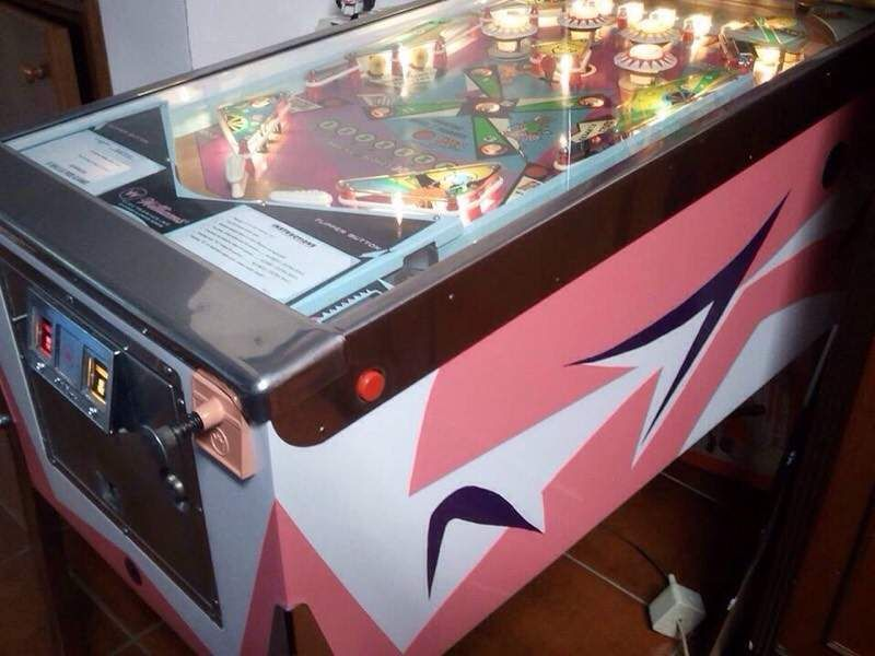 Flipper 'DAFFIE' Williams Pinball 1968