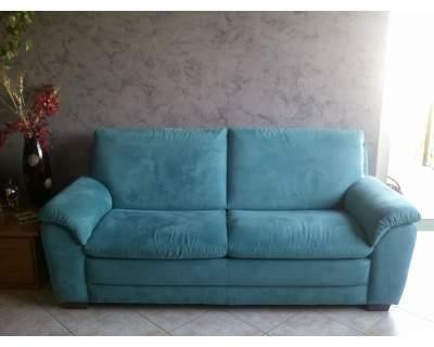 Vendo divano in ottimo stato - Divano verde petrolio ...