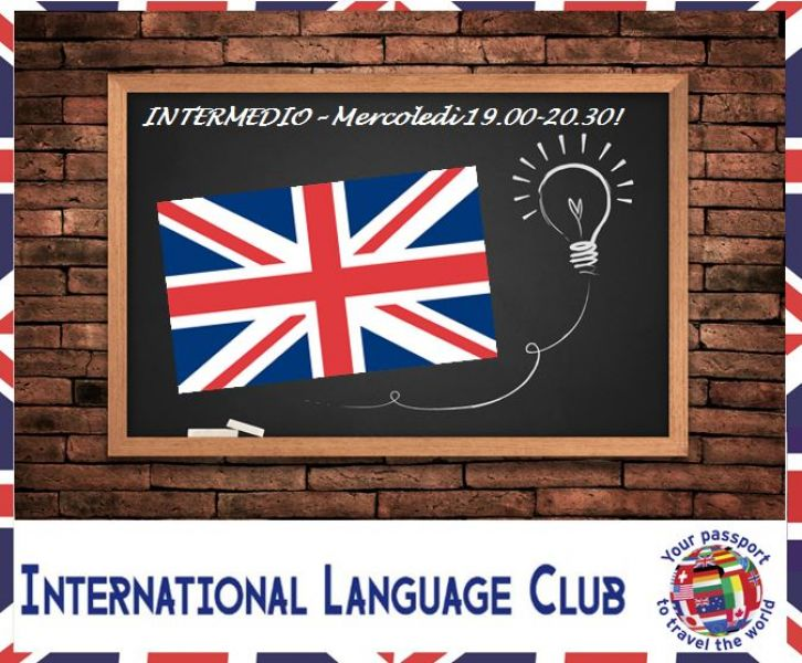 Corso inglese livello intermedio @ International Language Club!