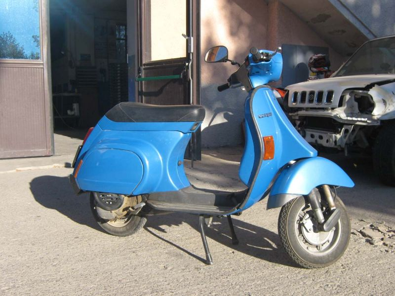VESPA 50 - 4 MARCE - RESTAURATA
