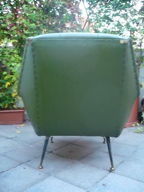 Poltrone design anni 50 60 for Subito it gorizia arredamento