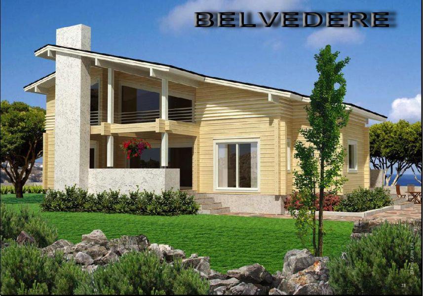 Costruzioni case di legno lamellare no prefabbricati for Prefabbricati case