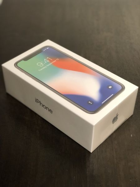 Apple iPhone X 64gb 420euro e iPhone X 256gb 465euro