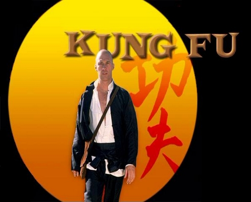 Kung Fu serie tv completa anni 70 - David Carradine
