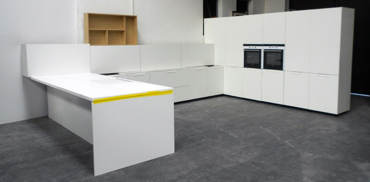 Cucina moderna da esposizione