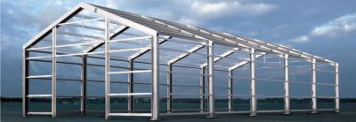 Capannoni costruzioni e strutture in ferro o acciaio for Capannoni prefabbricati usati in ferro