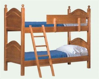 Vendo letto a castello in legno massiccio - Letto a castello in legno massello ...