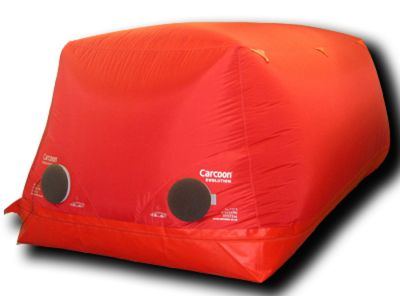 Carcoon 4.7 x 2.0 m Dimensione 4 Rosso