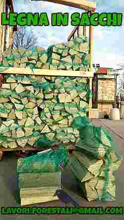 Pellet a euro il sacco e legna da ardere for Legna da ardere brianza