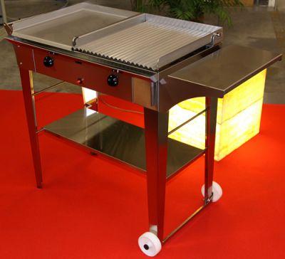 Griglia piastra grill in acciaio inox per alimenti - Piastra in acciaio inox per cucinare ...