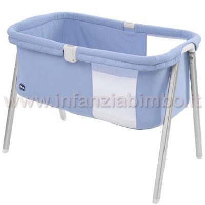 Culla pieghevole chicco lullago azzurra for Culla azzurra