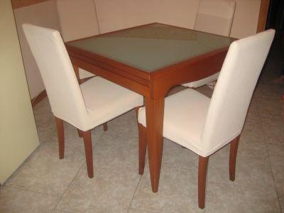 Tavolo calligaris 4 sedie for Tavoli allungabili calligaris cristallo
