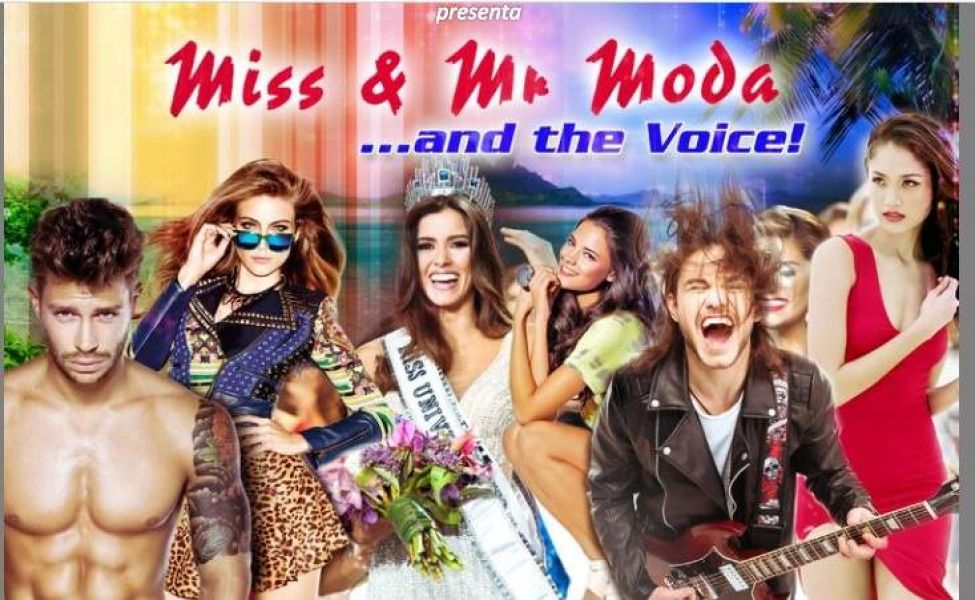 Concorso Miss & Mr Moda...and the Voice!