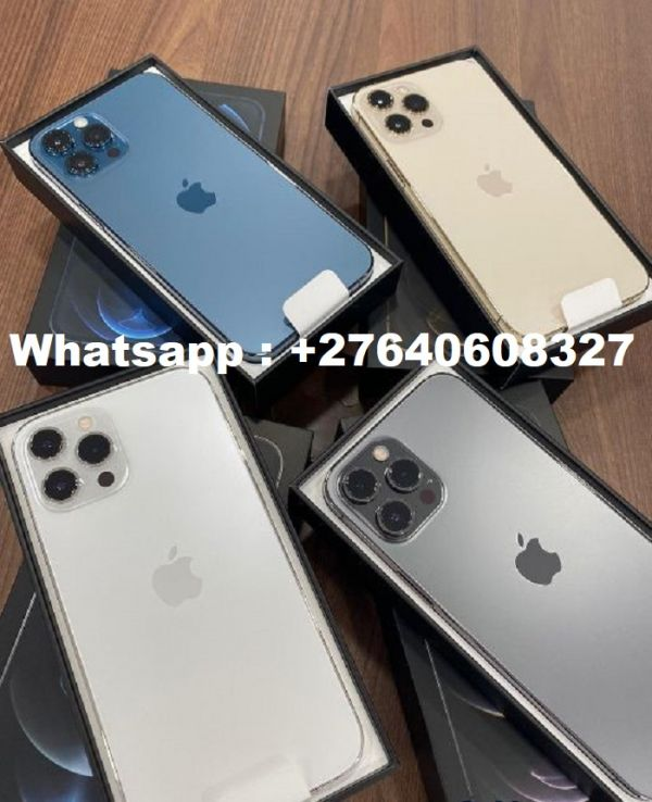Apple iPhone 12 Pro = €500 EUR, iPhone 12 Pro Max = €550EUR Whatsapp: +27640608327, iPhone 12 €430