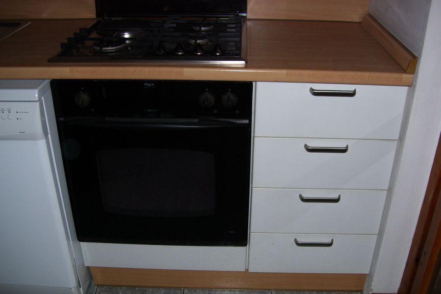 Cucina componibile laminato bianco for Frigorifero 60x60