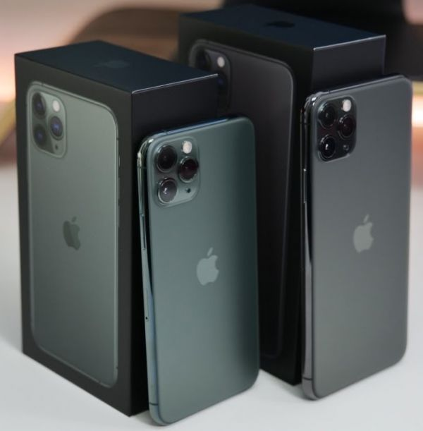 Apple iPhone 11 Pro 64GB €500,iPhone 11 Pro Max 64GB €530,iPhone 11 64GB €400,iPhone XS 64GB €350