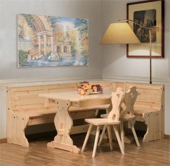 Tavoli sedie e panchine in legno per ristoranti e pizzerie for Sedie in legno massello prezzi