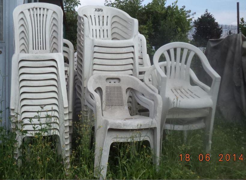 Sedie In Plastica Usate.Sedie In Plastica Da Giardino Usato Tavoli Da Giardino In Ferro