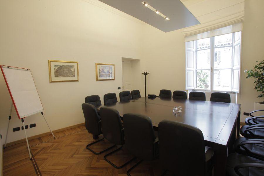 via veneto affittasi uffici pronti con sale riunioni e