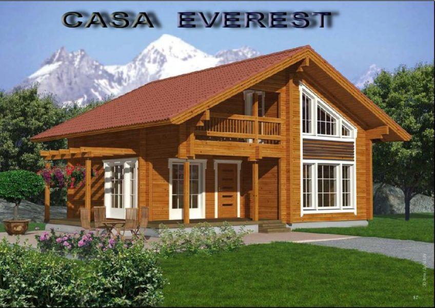 costruzioni case di legno lamellare no prefabbricati